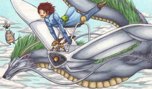 The princess and the dragon by Ganjamira