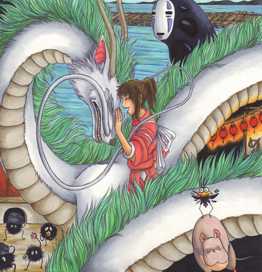 Spirited Away by Ganjamira