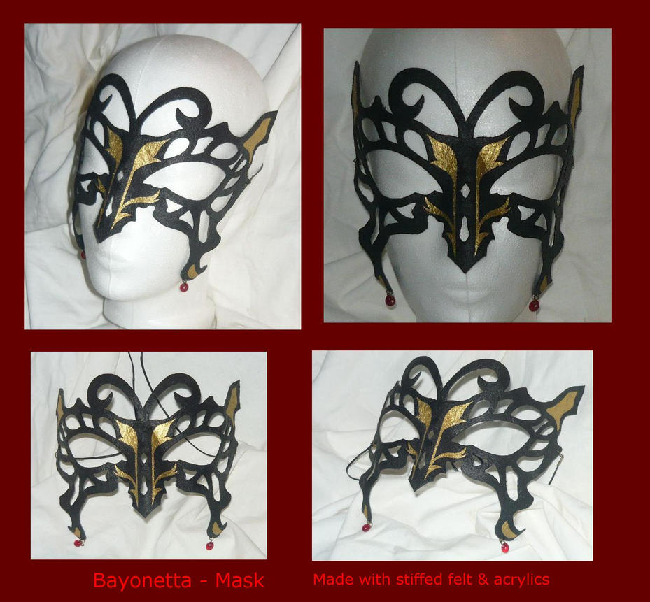 Bayonetta - Mask by Ganjamira