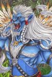 Ronso Warrior Kimahri - Commission for ~KuroroCure by Ganjamira