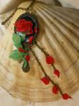 When the last petal falls...- Necklace
