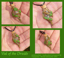 Vial of the Druids - miniature Flask