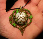 Heart of the Moonkin - handsculpted Pendant