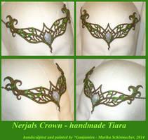 Nerjals Crown - handcrafted Tiara by Ganjamira