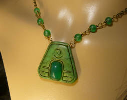 Symbol of Earth - handmade Necklace by Ganjamira
