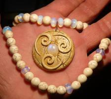 Symbol of Air - handmade Pendant by Ganjamira