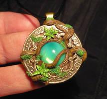 Druids Heart - handmade Pendant