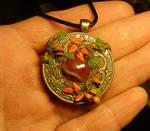 Autumn Soul - handcrafted Pendant