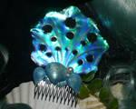 Nereids Treasure - handmade Haircomb
