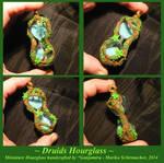 Druids Hourglass II - handmade Pendant