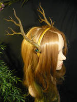 Forest Queen - handmade Branch-Antlers by Ganjamira