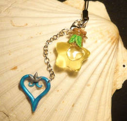 Kingdom Hearts - handmade Keycharm by Ganjamira