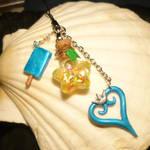 Kingdom Hearts II - handmade Keycharms