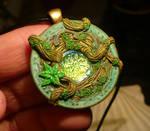 Viridian Talisman - handmade Pendant