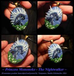 Princess Mononoke - The Nightwalker by Ganjamira