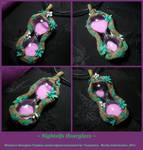 Nightelfs Hourglass - handmade Hourglass Pendant