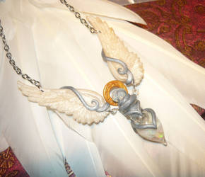 Angelic Vial - heavenly handcrafted Necklace