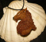 Werewolf Dacke - Pendant for Escaron by Ganjamira