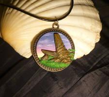 TLK - Priderock - handmade Pendant by Ganjamira