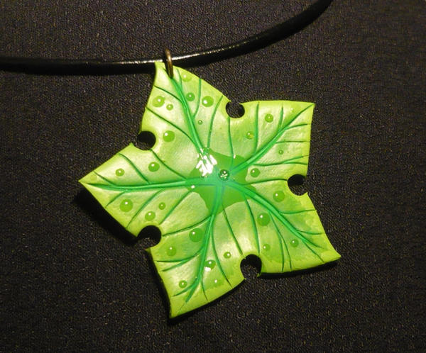 Treestar II - handmade Pendant GIVEAWAY by Ganjamira