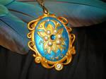 ChronoCross -The Memento Pendant - handmade Locket