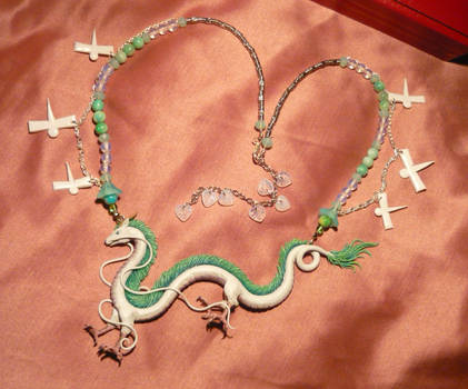 Spirited Away: Haku the Dragon - Necklace II