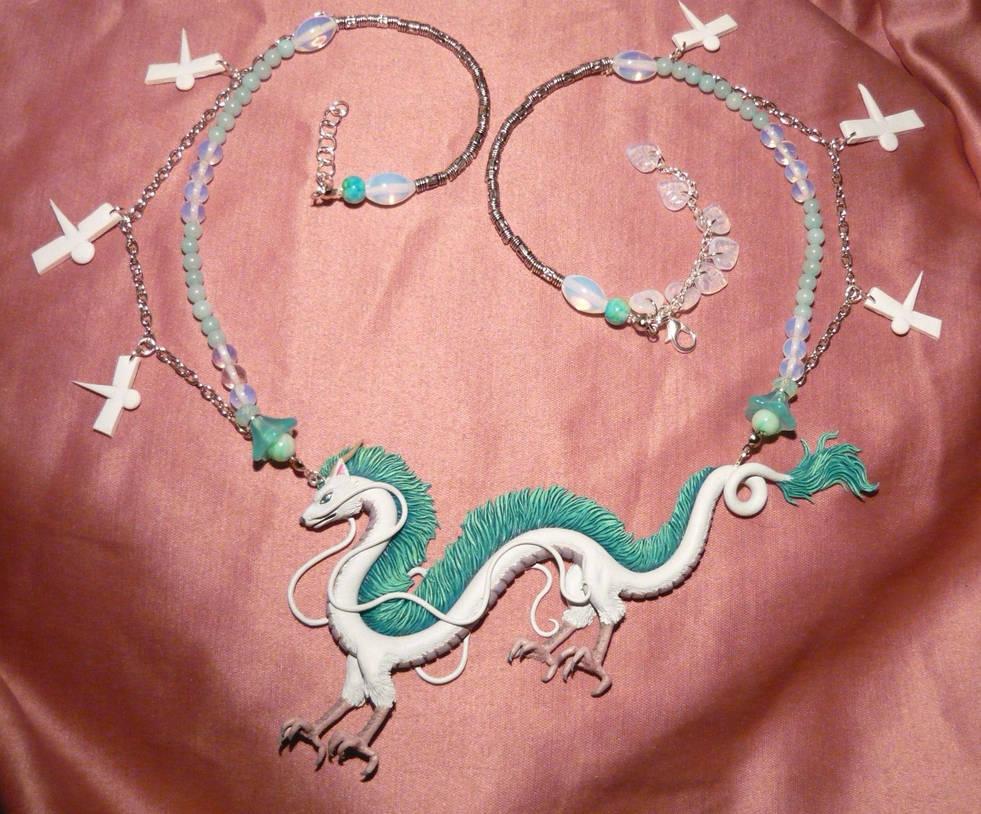 Spirited Away Haku The Dragon Necklace Iii By Ganjamira On Deviantart