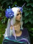 Oceanbreeze Unicorn - handmade Headgear by Ganjamira