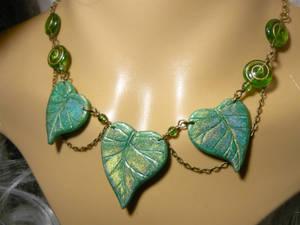 Rainbow Fairy - handmade sparkling Necklace