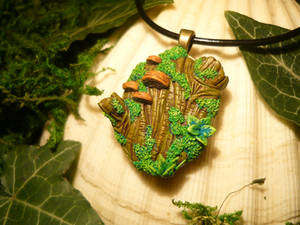 My Piece of Forest - handmade Pendant