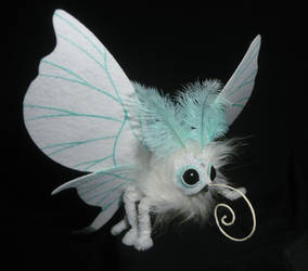 Moonlight Moth - handmade Artdoll by Ganjamira