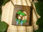 Earth's Embrace - Boulder Opal Pendant