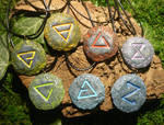 The Witcher Signs - handmade Charms