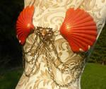 Empress of the Reef - Mermaid Scallop Bikini