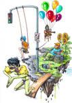 Gorillaz - Reclaim the Skies - A Tribute by Ganjamira
