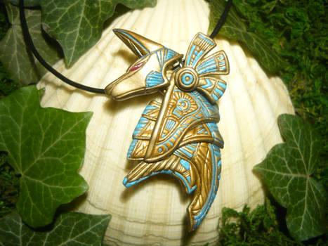 Anubis Guard - handsculpted Pendant