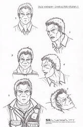 Jace Madigan - Character Studies I by Ganjamira