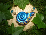 Seashell of the Wavesummoner - handmade Necklace by Ganjamira