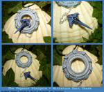 Pegasus Stargate + Dart - handmade Pendant by Ganjamira