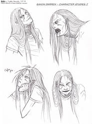 Simon Darren - Character Studies I by Ganjamira