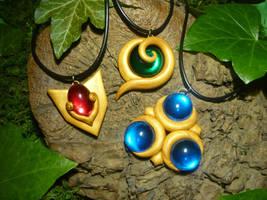 Legend of Zelda - Spiritual Stone Pendants