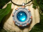 The Stargate - handmade Pendant by Ganjamira