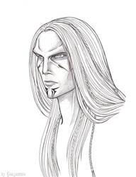 Lloyd Portrait - Outlines by Ganjamira