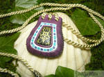 Astral Amulet - ChronoCross - handmade Necklace
