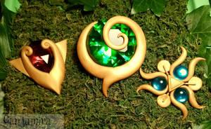 The Spiritual Stones - LoZ Ocarina of Time
