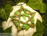 Oakdruids Pentacle - handmade Amulet