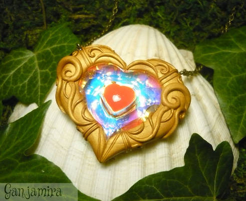 Zelda Heartcontainer - handmade Necklace