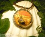 Sovereign of Arrakis - handmade Pendant - DUNE