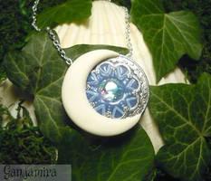Moonlight Aura - handmade Amulet