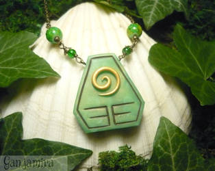 Insignia of the Earth - handmade Necklace by Ganjamira